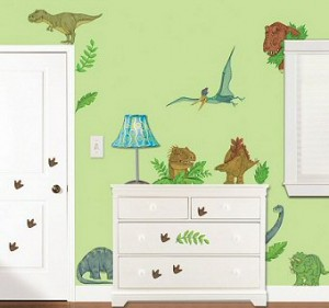 Dinosaur Land Wall Decals Room