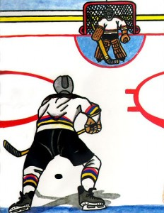 The Hockey Hero Personalized Children's Book