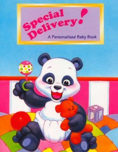 Special Delivery Personalized Baby Book