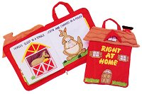 Right at Home Cloth Activity Book