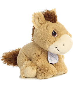 Apple-Jack Horse Precious Moments Plush Animal by Aurora