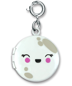 CHARM IT! Moon Locket Charm by High IntenCity (Front)