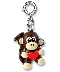 CHARM IT! Monkey Heart Charm