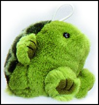 Baby Q-Ball Turtle Cushy Kids Stuffed Animal by Purr-Fection by MJC