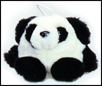 Baby Patches Panda Cushy Kids Stuffed Animal by Purr-Fection by MJC
