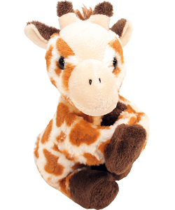 Giraffe CK Huggers Stuffed Animal by Wild Republic (Arms Closed)