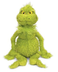 The Grinch (Medium) Dr. Seuss Stuffed Animal by Manhattan Toy
