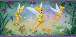 Tinker Bell Very Fairy Peel & Stick Border