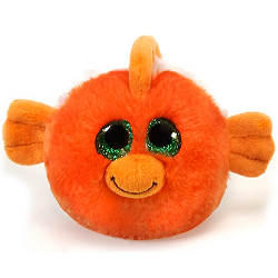 Giggles Clown Fish Lubby Cubbies Stuffed Animal by Fiesta