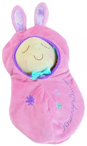 Hunny Bunny Snuggle Pod by Manhattan Toy
