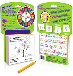 Alphabet (Script) SQUIGGLE On-The-Go Game