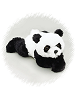 Baby Gansu Panda Bear Stuffed Animal by Purr-Fection by MJC