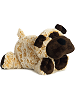 Howler Dog Funny Bones Stuffed Animal by Aurora World (Lying Down; Rotated Right)