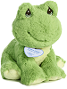Ribbit Frog Precious Moments Stuffed Animal (Rotated View)