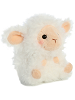 Lyssa Lamb Rolly Pets Stuffed Animal by Aurora World (Rotated)