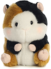 Sprite Guinea Pig Rolly Pets Stuffed Animal by Aurora World (Front View)