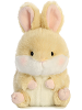 Lively Bunny Rolly Pets Stuffed Animal by Aurora World (Front View)
