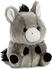 Bray Donkey Rolly Pets Stuffed Animal by Aurora World (Rotated)