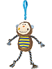 Cheery Clips Monkey Backpack Clip Stuffed Animal by Mary Meyer