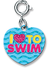 CHARM IT! I Love to Swim Charm by High IntenCity