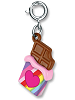 CHARM IT! Rainbow Chocolate Bar Charm by High IntenCity (Rotated View)