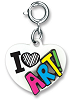 CHARM IT! I Love Art! Heart Charm by High IntenCity
