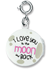 CHARM IT! Moon Locket Charm by High IntenCity (Back)