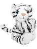 White Tiger CK Huggers Stuffed Animal by Wild Republic (Arms Closed)