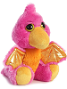 Mystery Dragon (Pterodactyl) Dreamy Eyes Stuffed Animal by Aurora World (Rotated View)