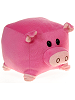 Square Pig (Small) The New Round Plush Animal by Fiesta