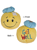 Get Well Smiley Face Tossimals Plush by Ganz