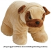 Pug Hugga Pet Pillow Demonstrating Standing Position