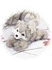Wyatt Jr. Wolf Nature Babies Stuffed Animal by Purr-Fection by MJC
