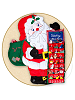 Santa Merry Christmas Advent Calendar by Rosalina Baby