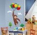 Curious George RoomMates Giant Wall Decal Room View