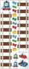 Thomas the Tank Engine RoomMates Peel & Stick Growth Chart