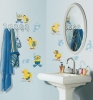 Ducks & Bubbles RoomMates Wall Decals Room View