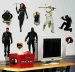G.I. Joe RoomMates Wall Decals Room View
