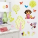Dora the Explorer RoomMates Wall Decals Room View