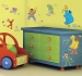 Sesame Street RoomMates Wall Decals Room View
