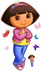 Dora the Explorer (v3) RoomMates Giant Wall Decal Set