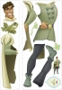 Princess & the Frog Prince Naveen RoomMates Giant Wall Decal Sheets