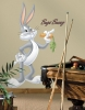 Bugs Bunny RoomMates Giant Wall Decal Room View