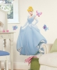 Cinderella RoomMates Giant Wall Decal Room View