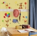 Winnie the Pooh & Friends RoomMates Wall Decals Room View