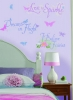Disney Fairies Phrases RoomMates Wall Decals Room View