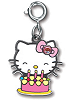 CHARM IT! Hello Kitty Birthday Cake Charm
