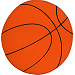 Basketball Fabric Wall Art