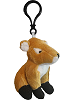 Fawn Wildlife Plush Clip-On Stuffed Animal by Unipak
