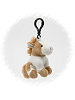 Paint Horse Plush Clip-On Stuffed Animal by Unipak